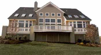 Ultimate construction company michigan custom decks for Home building companies in michigan